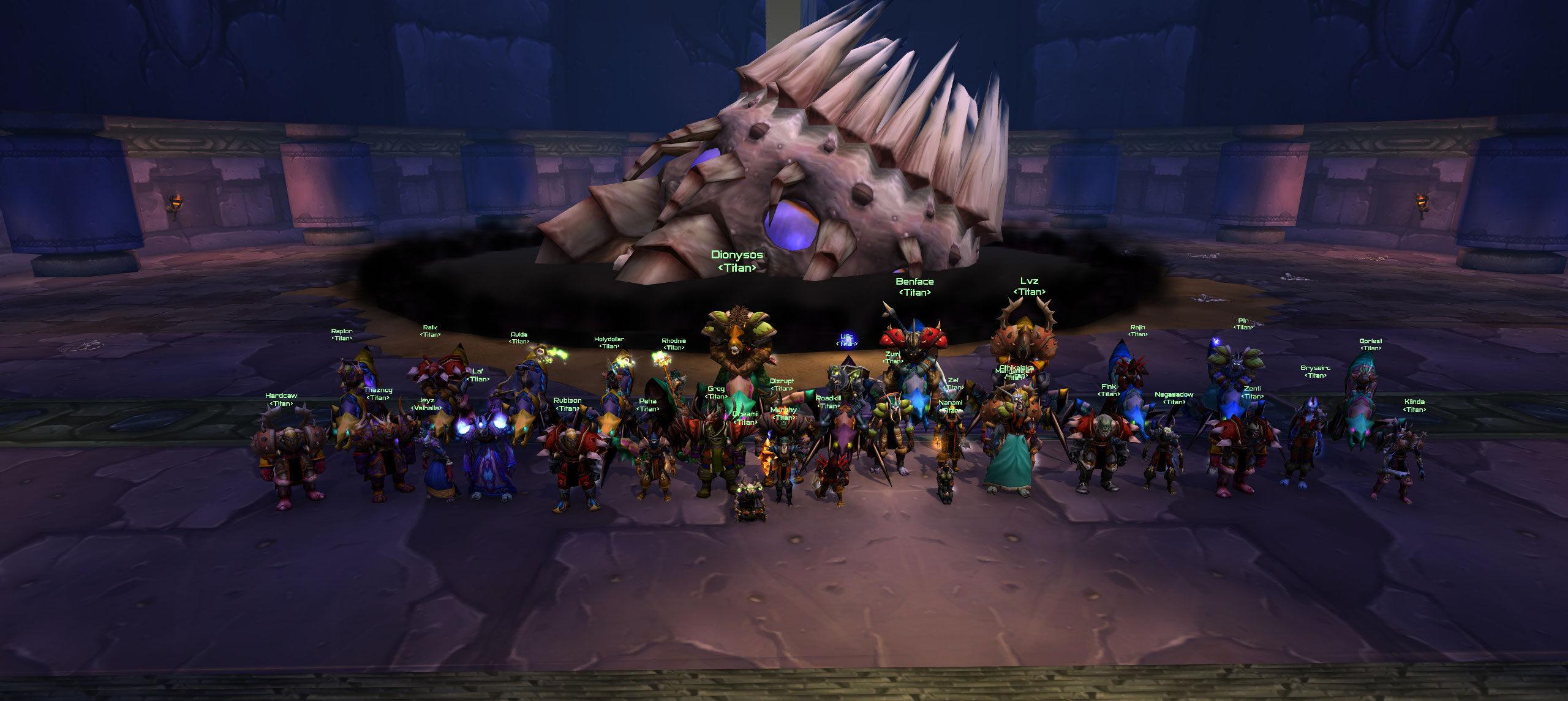 Titan – A Horde raiding guild on Arugal